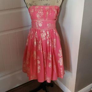 Strapless XOXO Dress